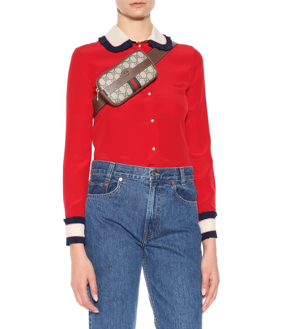 45dbec4591b23c Gucci - Ophidia GG Supreme belt bag | Mytheresa