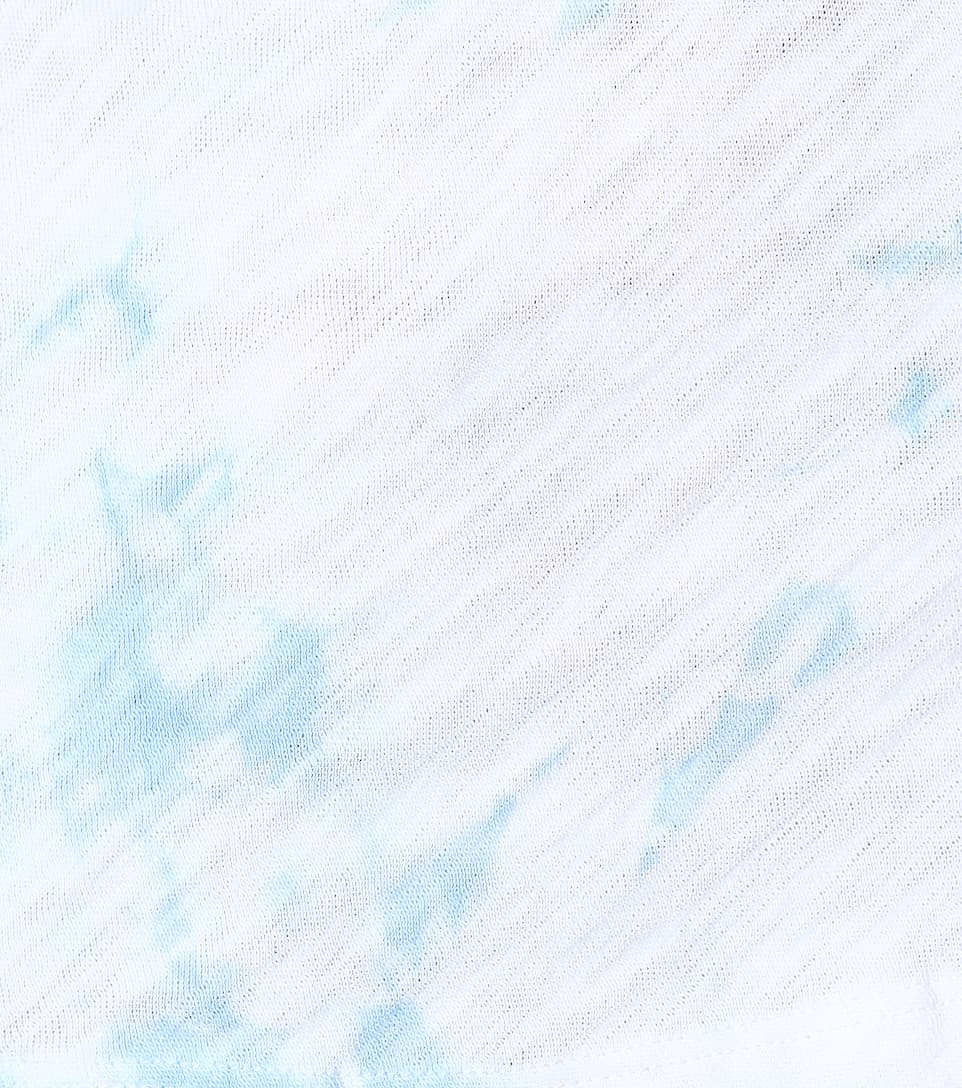 Boyfriend Tie Blanco algodón Melillo Air Anthony dye automático de Blue Cajero Thomas Camiseta qwIFBCz