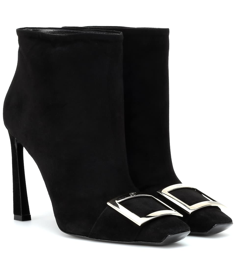 497ef80e8a0 Trompette suede ankle boots