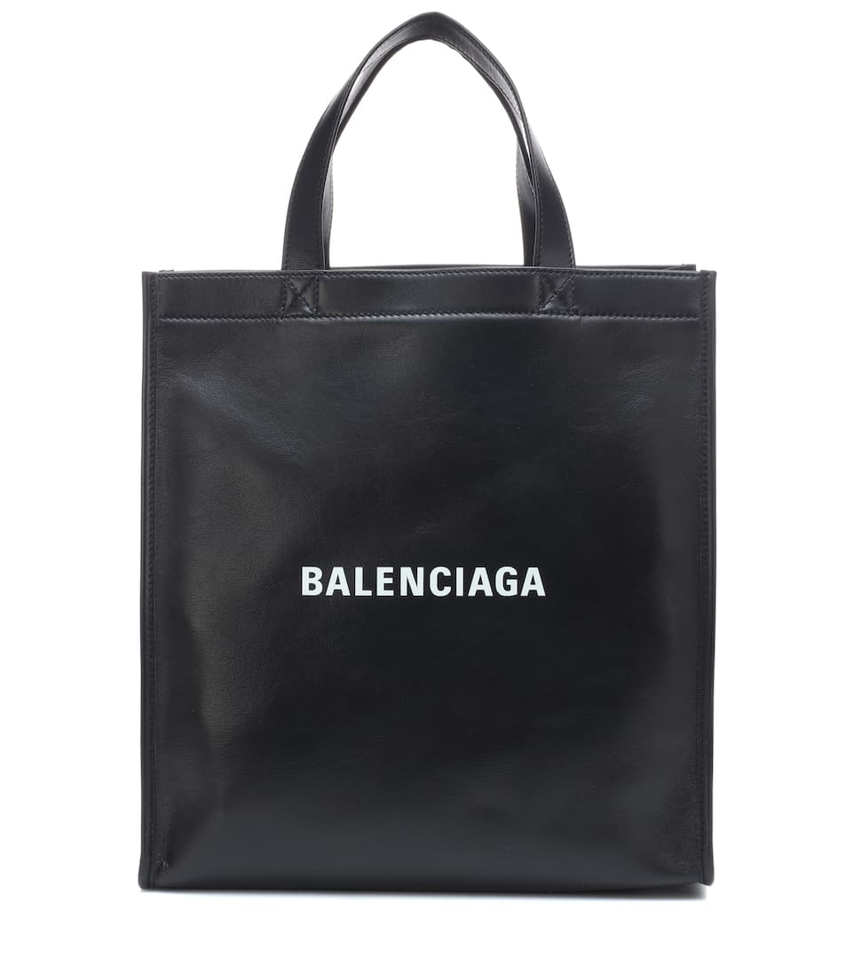 Maket Leather Tote by Balenciaga