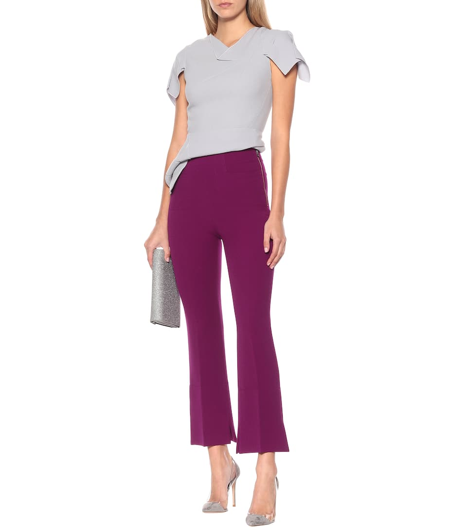 Roland Mouret - Exclusive to Mytheresa – Goswell high-rise cropped pants