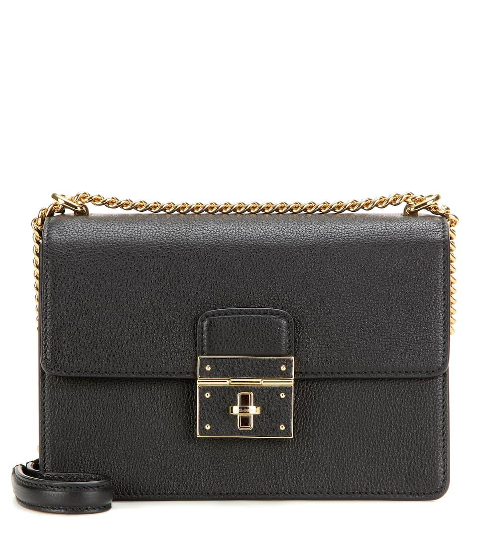 Dolce & Gabbana Schultertasche Rosalia aus Leder