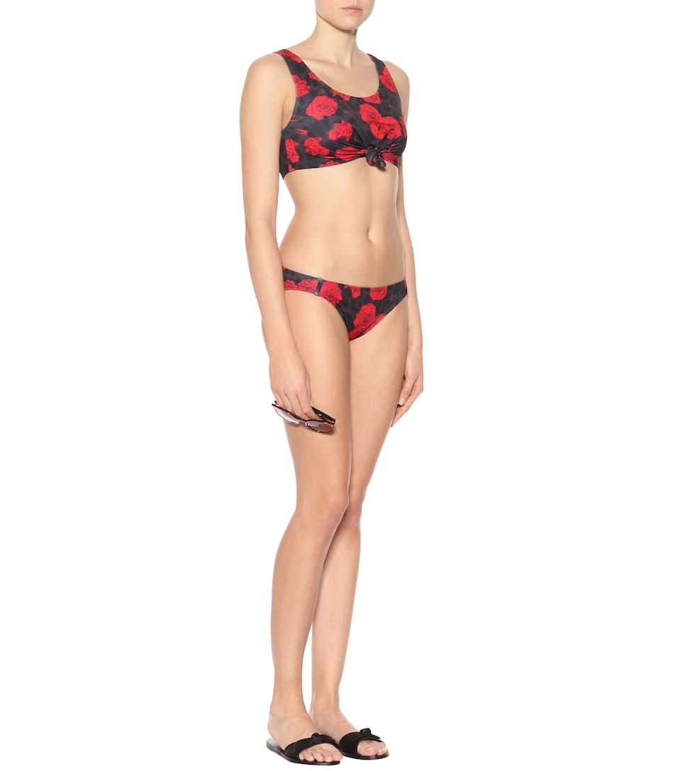 Beth Richards Bedrucktes Bikini-Höschen Naomi