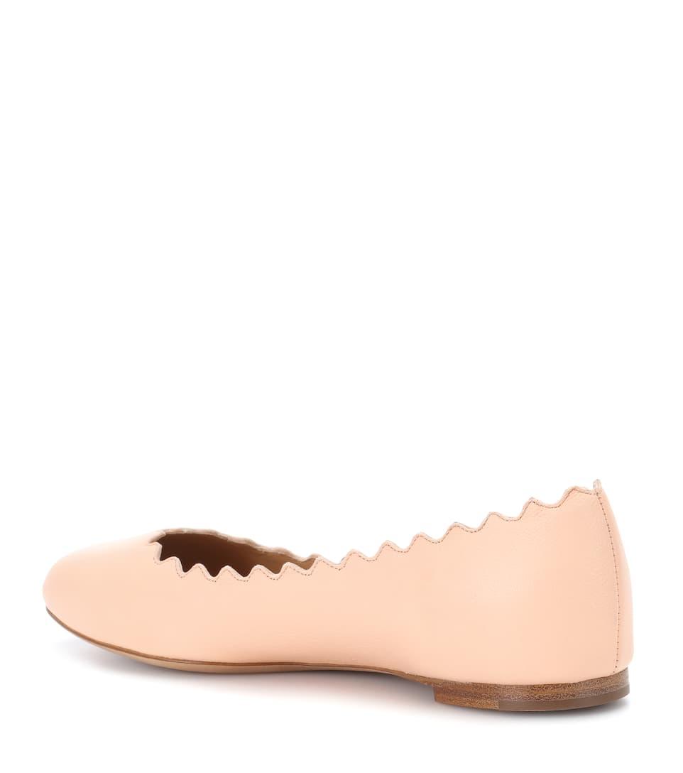 Chloé Ballerinas Lauren Of Leather