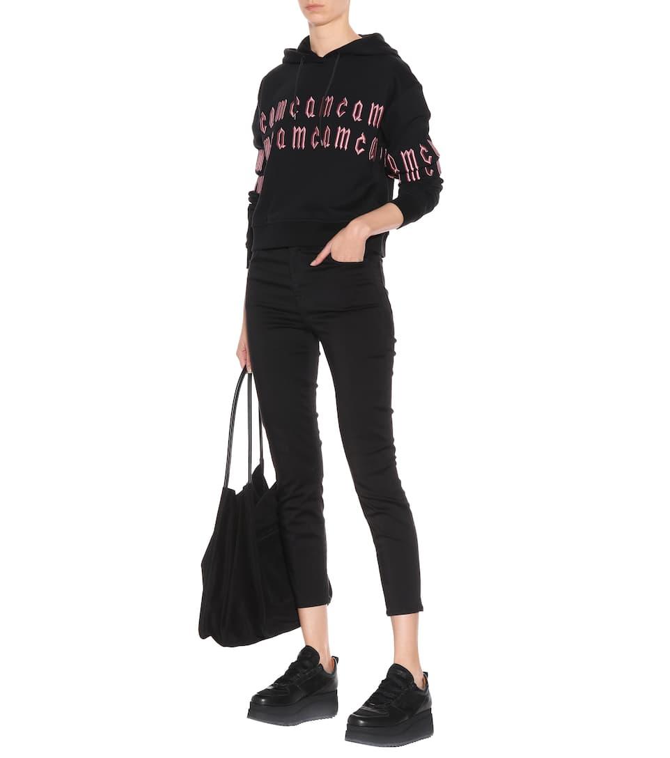 J Brand High-Rise Cropped Jeans Alana