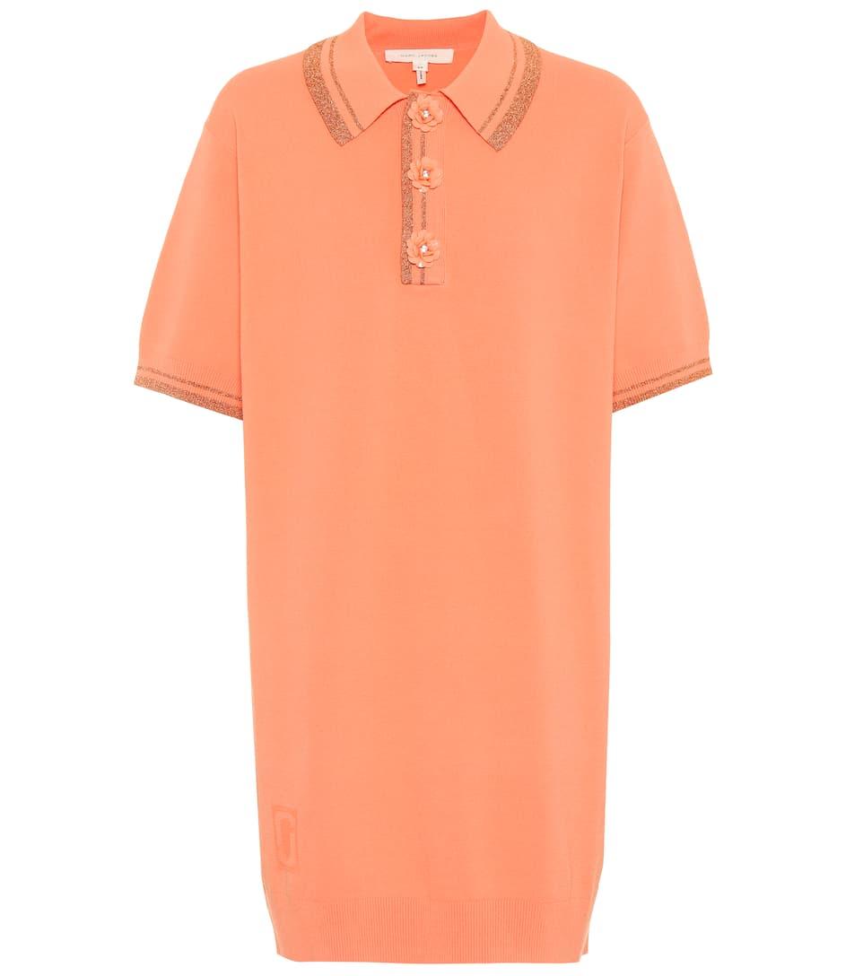 Marc Jacobs Kleid aus Piqué mit Metallic-Fäden