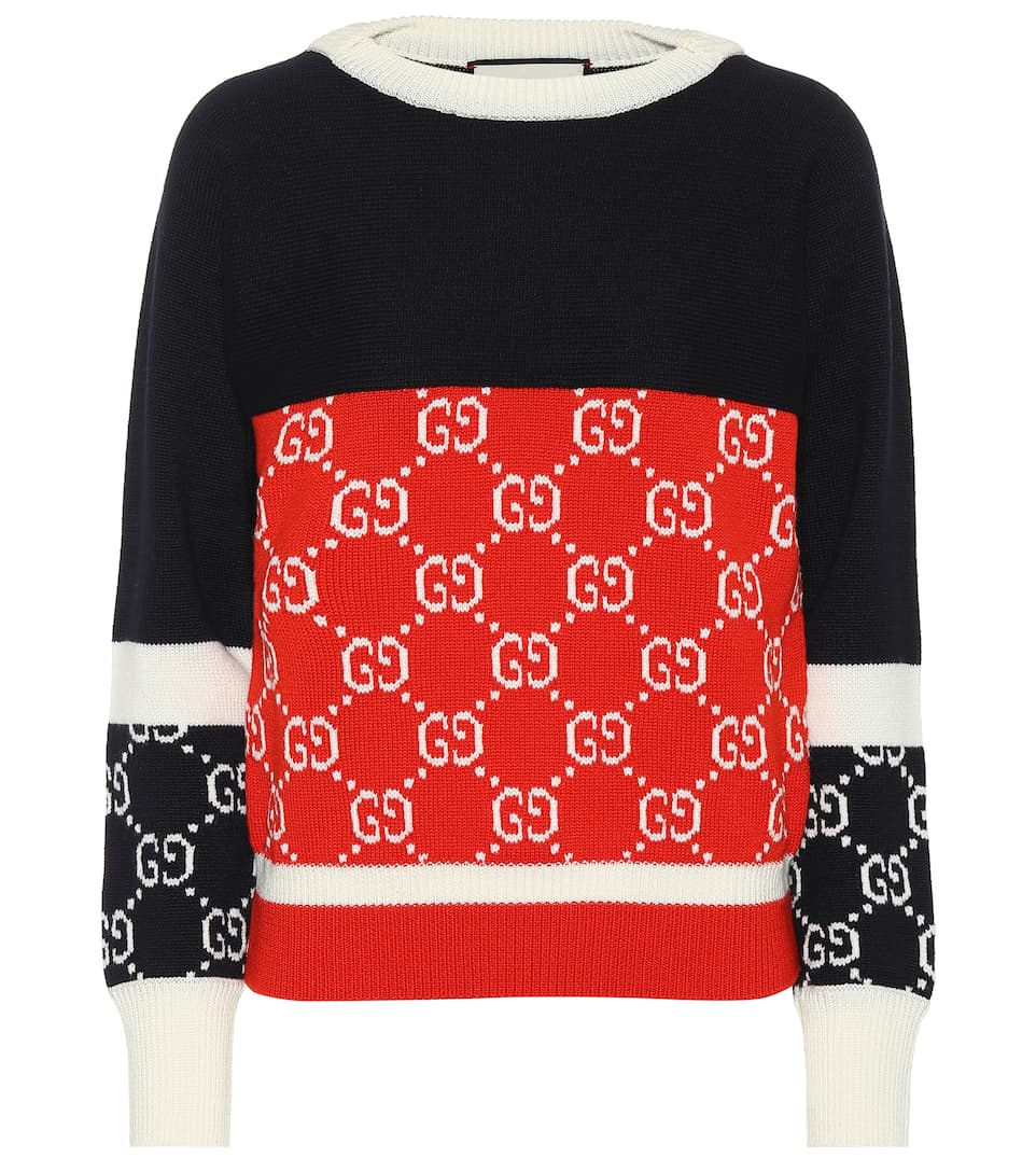 Gucci - GG wool sweater
