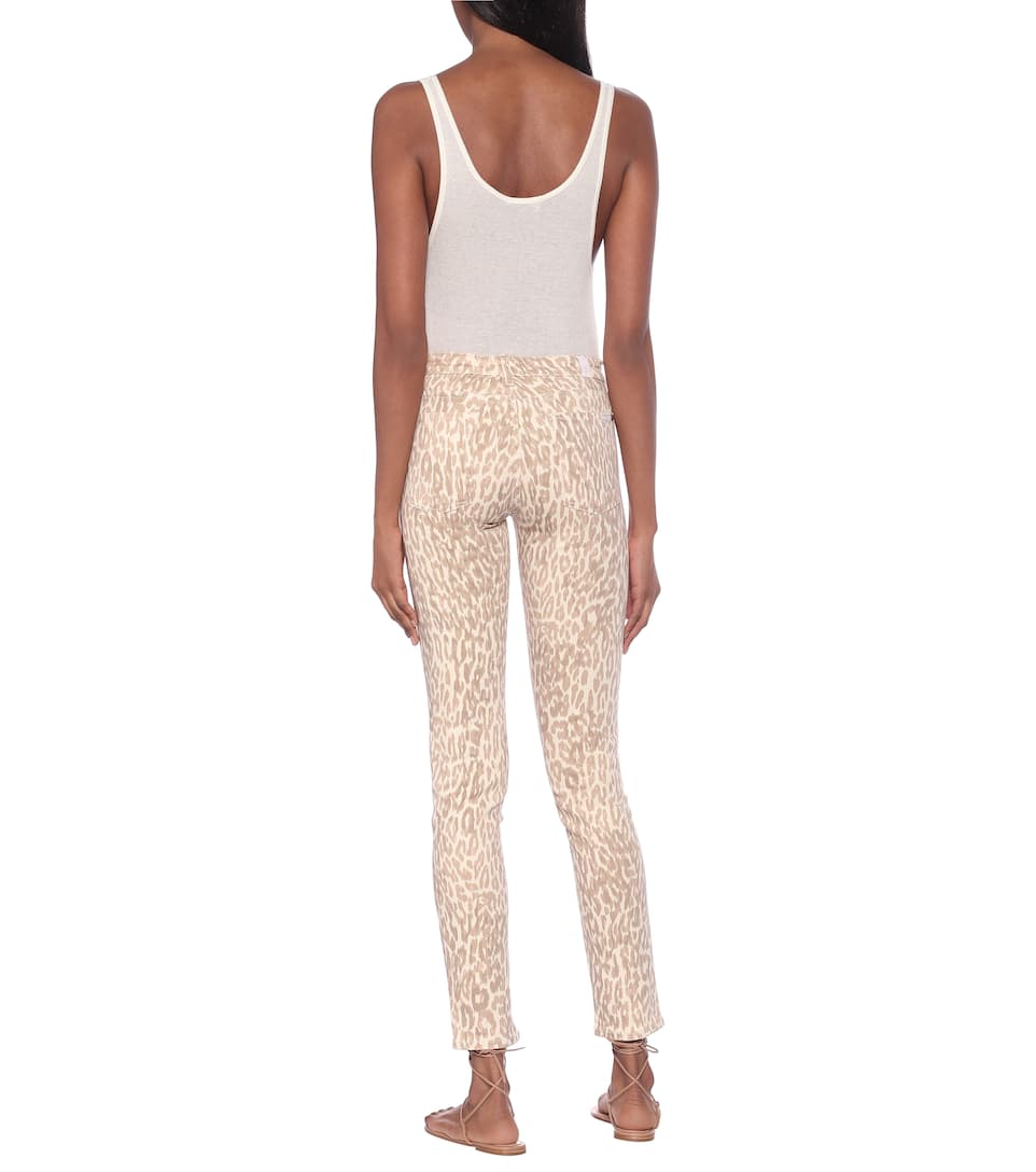 7 For All Mankind - Pyper mid-rise skinny jeans