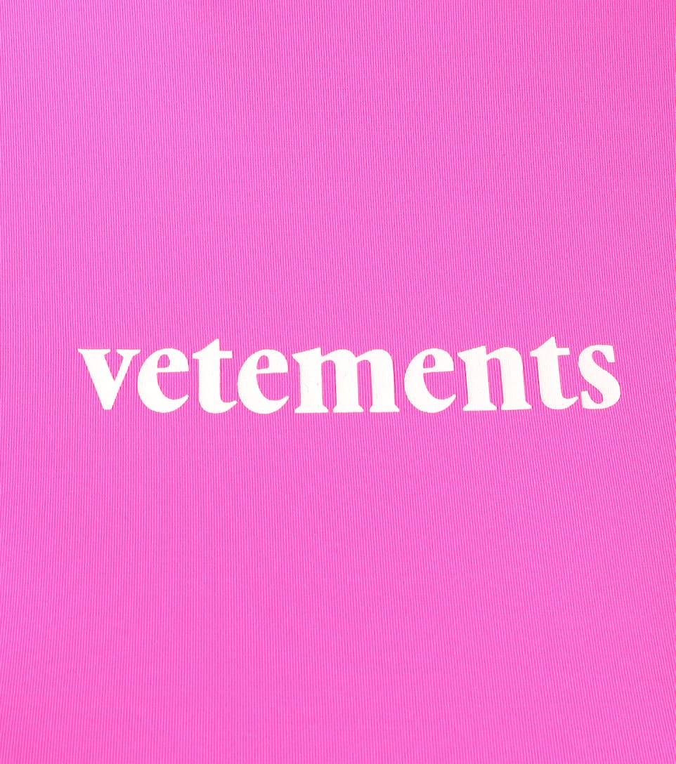 Vetements - Logo minidress