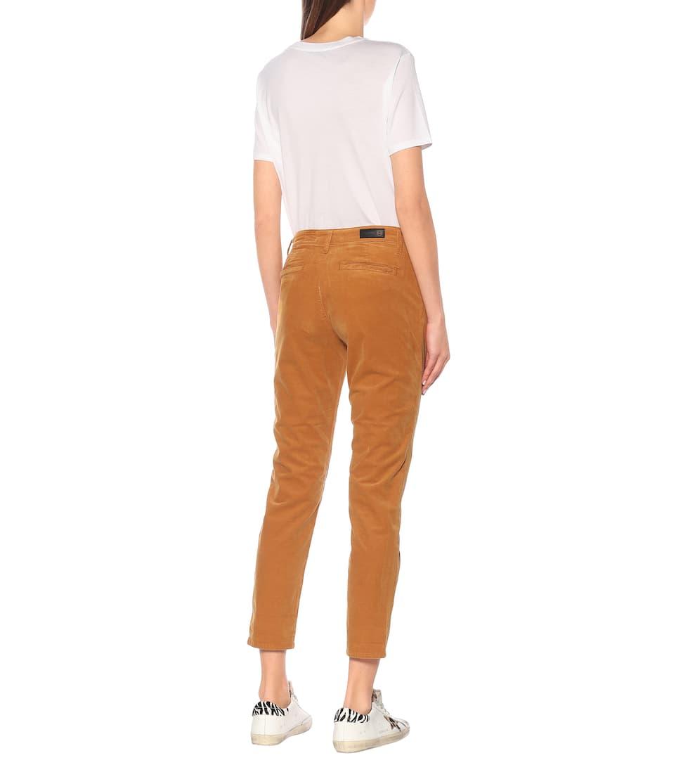The Caden Corduroy Slim Pants - AG Jeans