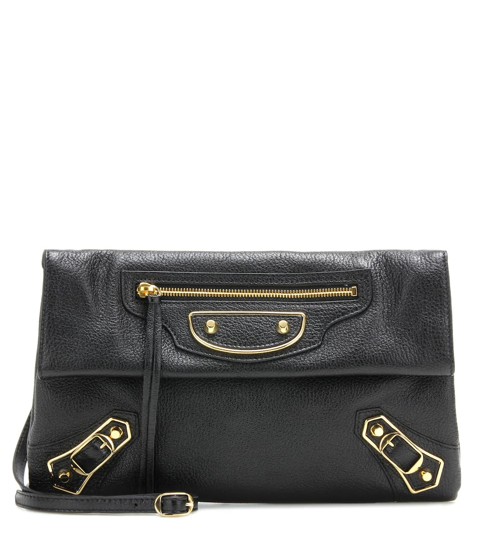 Classic Metallic Edge Envelope Strap Crossbody Bag - Balenciaga Coût xZrrB