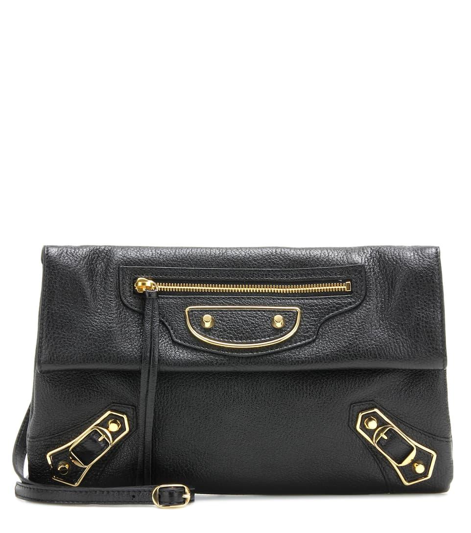 Classic Metallic Edge Envelope Strap Crossbody Bag - Balenciaga Magasin De Vente Pour Pas Cher ALndY