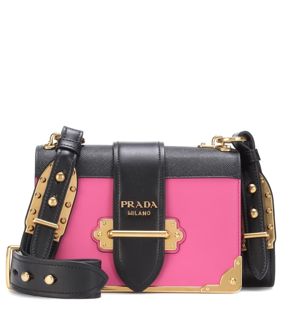 ac37a8b23c Prada - Cahier leather shoulder bag