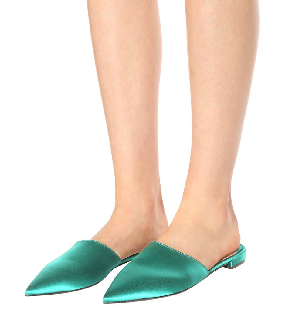 Prada Slippers aus Satin