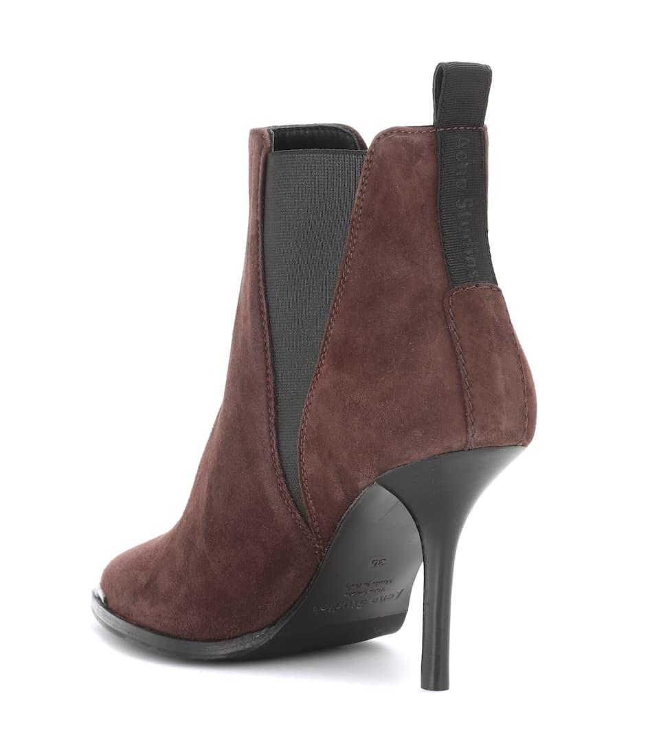 Acne Studios Ankle Boots Jemma aus Veloursleder
