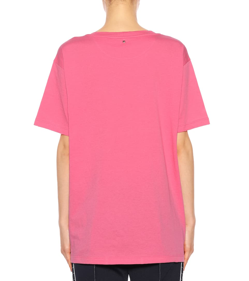 Valentino Printed T-shirt Made Of Cotton