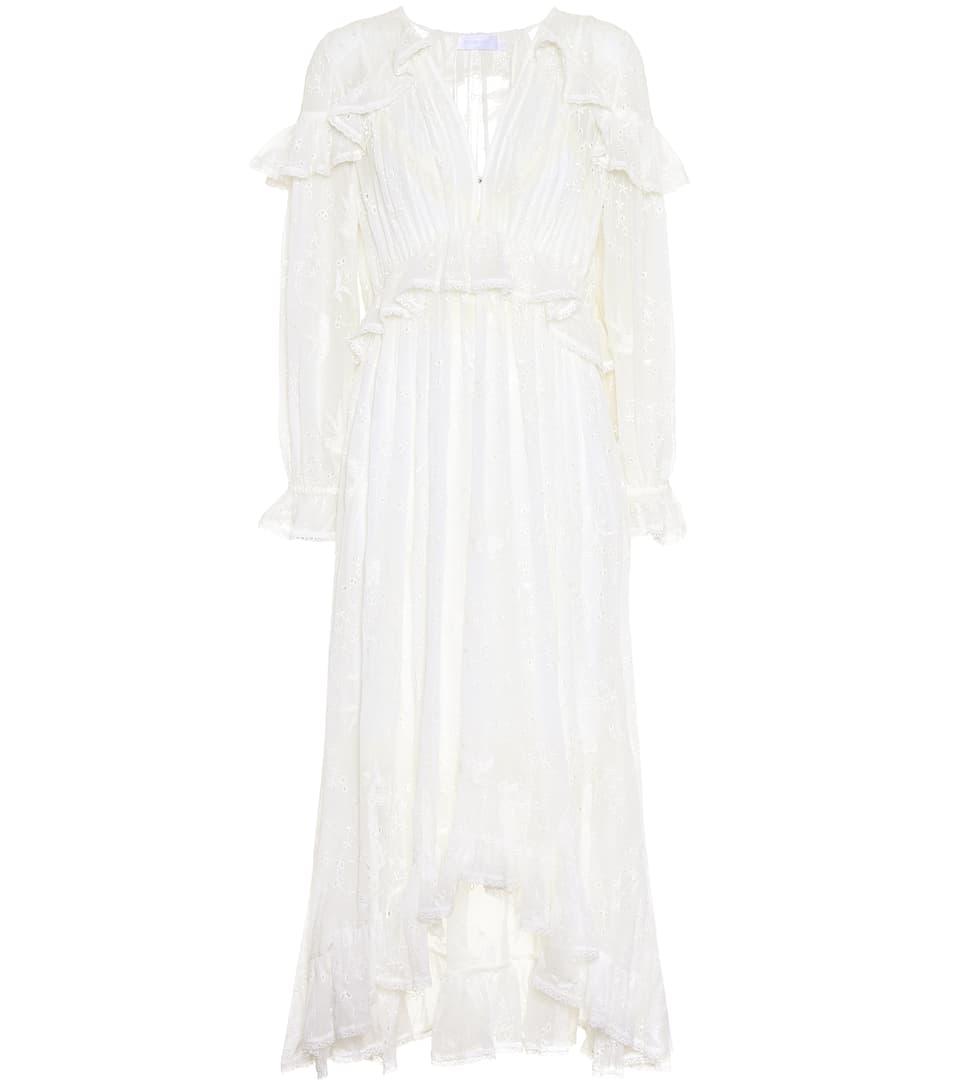 Eastbay Zum Verkauf Vorbestellung Verkauf Online Zimmermann Kleid Lovelorn Cape mit Rüschen und Lochspitze Erstaunlicher Preis 6nZHwj