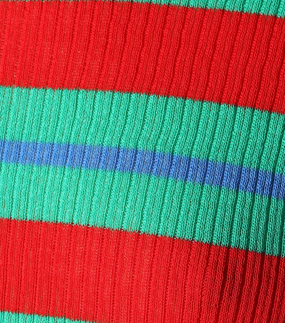 Diane von Furstenberg Strickkleid aus einem Baumwollgemisch