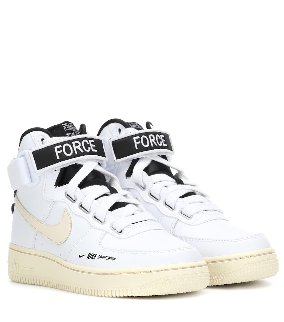 Los Angeles e843b f3cf5 Baskets Air Force 1 En Cuir - Nike | mytheresa.com