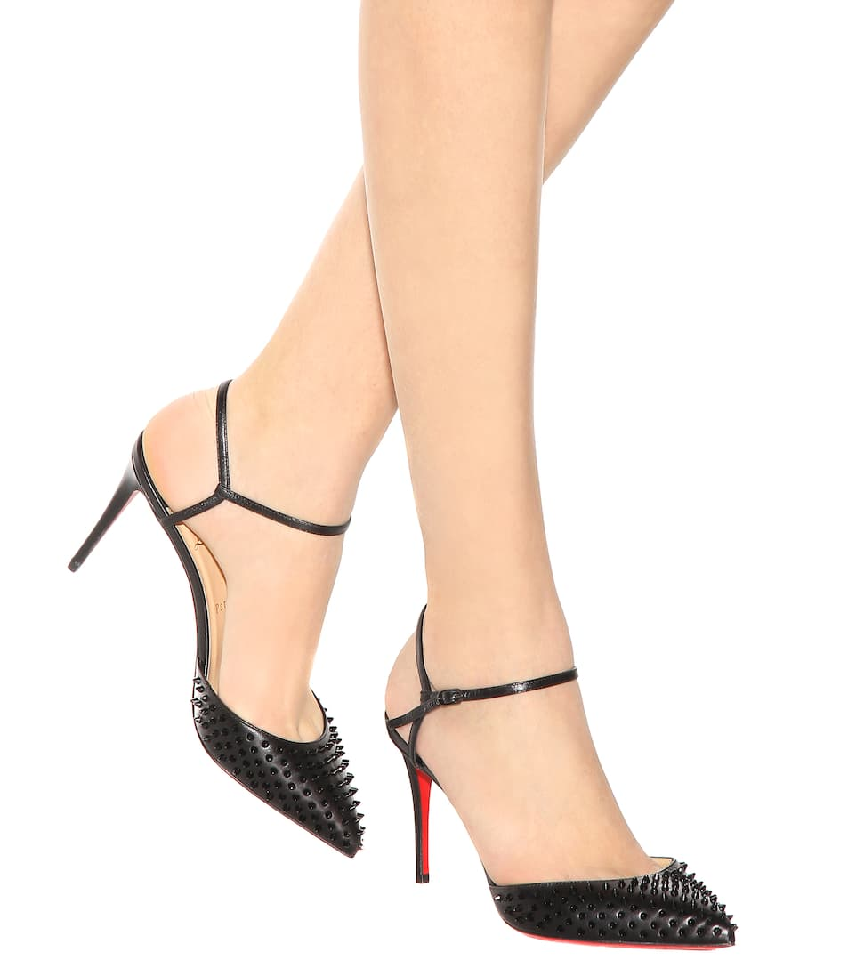 76735743f895 ... knock off christian louboutin shoes - christian louboutin smooth  louboutin Christian Louboutin Baila Spike ...