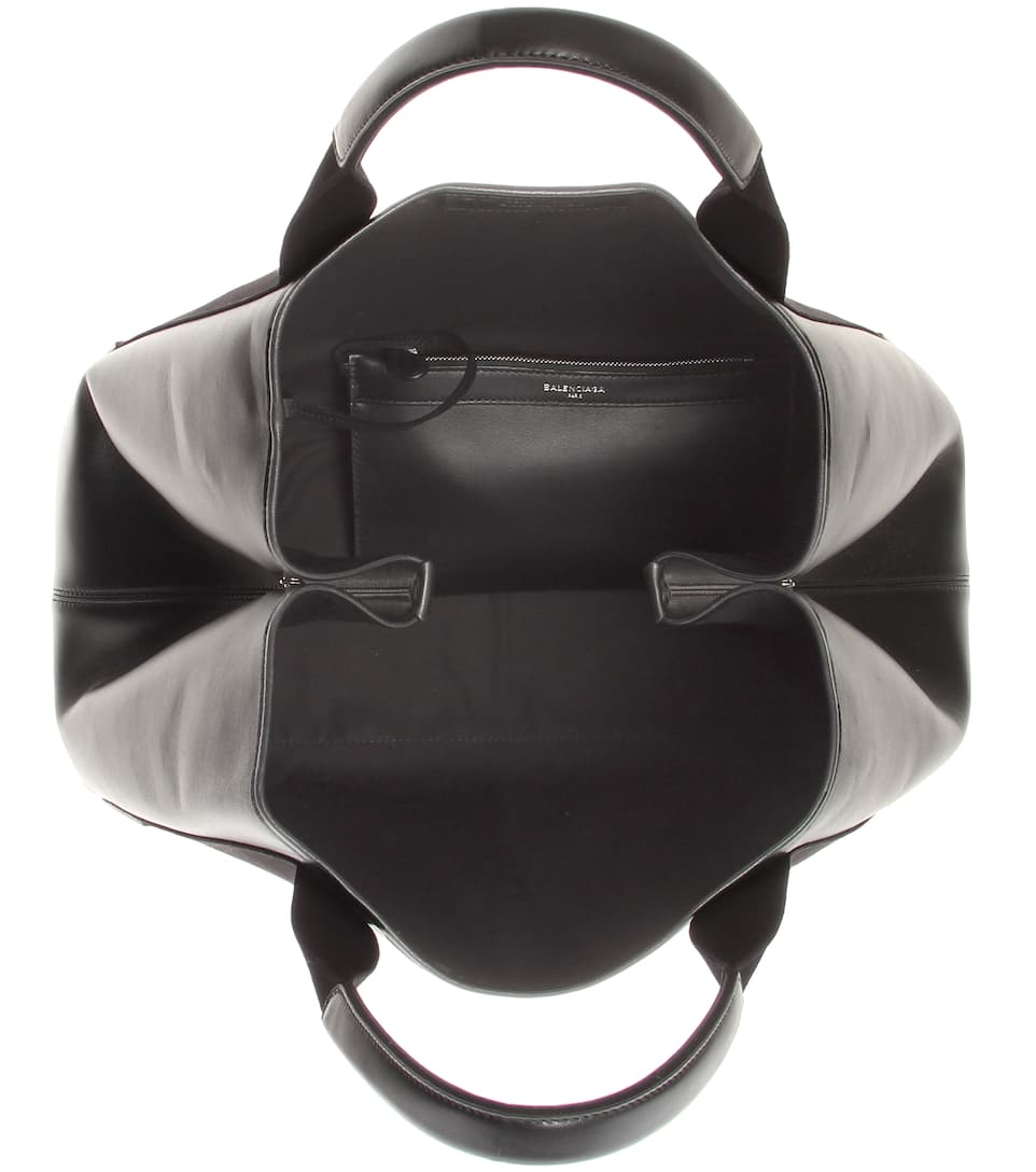 Webseite Günstiger Preis Balenciaga Shopper Navy Cabas M aus Leder Online-Shopping-Original Shop Für Günstige Online YjGfU
