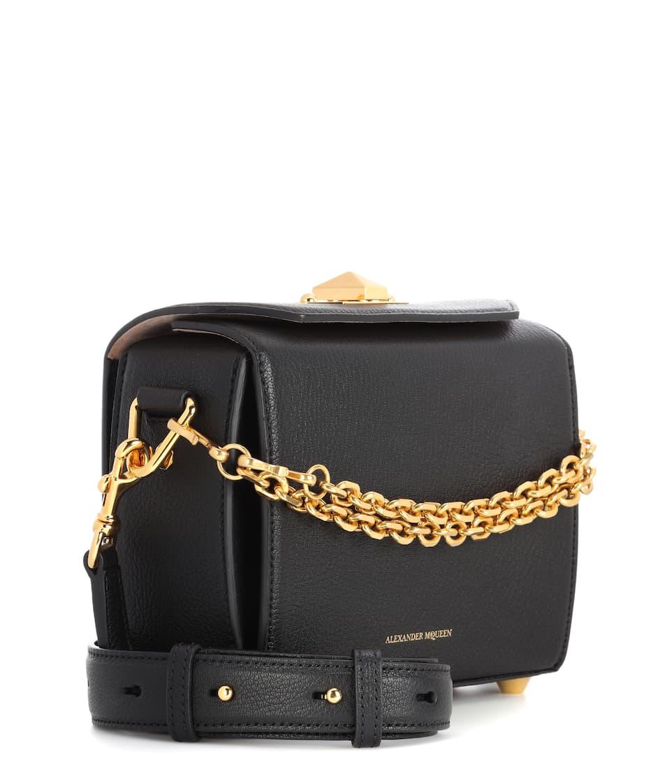 Alexander McQueen Schultertasche Box 19 aus Leder