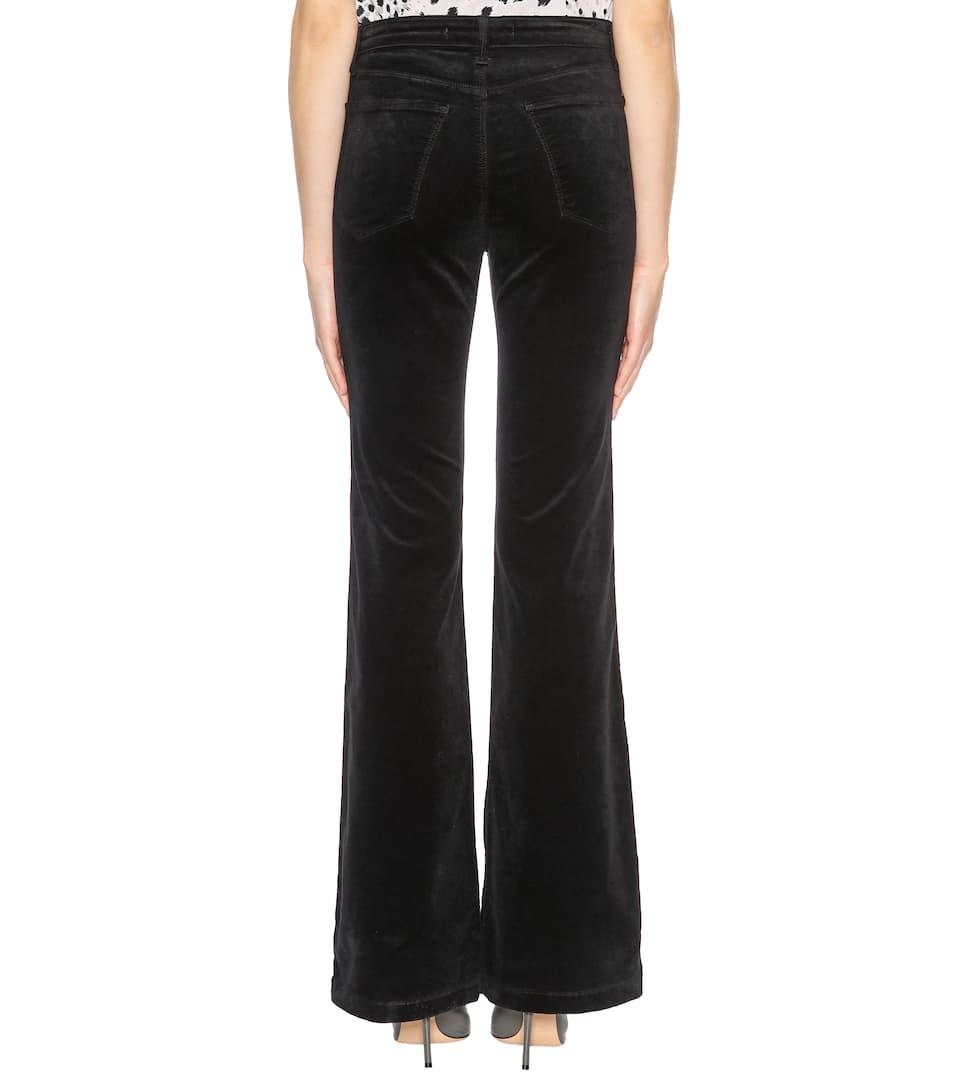 Maria velvet flare trousers J Brand rJ83SzJu