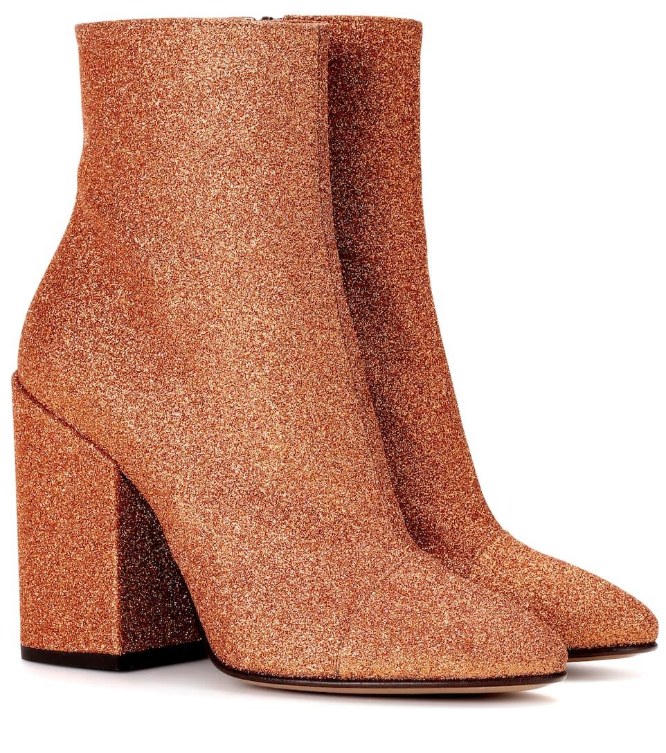 f560068c5e Dries Van Noten - Glitter ankle boots
