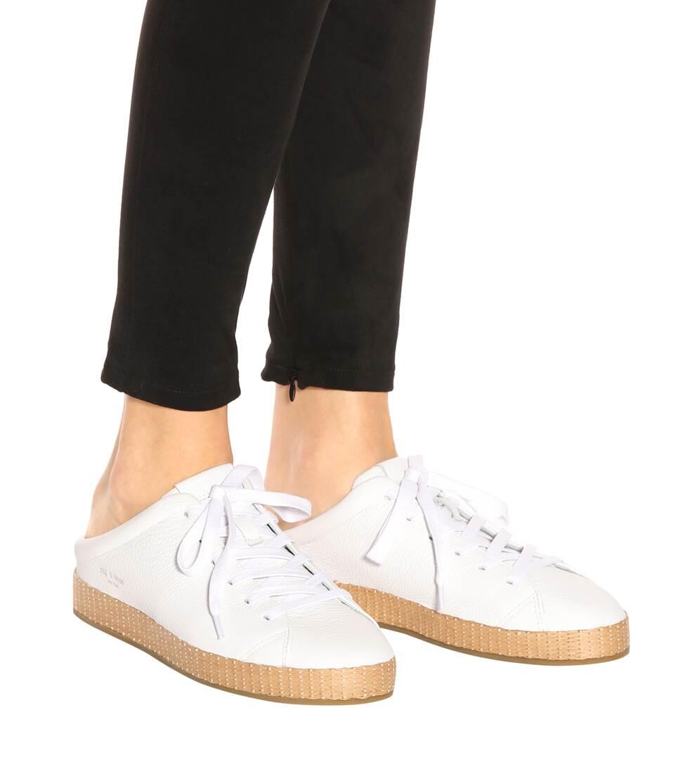 Rag & Bone Slippers R B1 Of Leather