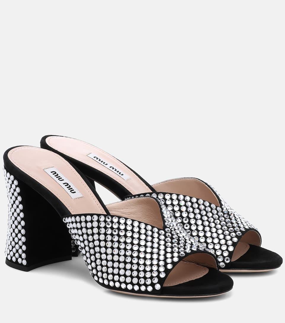 Miu Miu Black 37 12 7 Gold Italian Heels Pumps Size EU 37.5