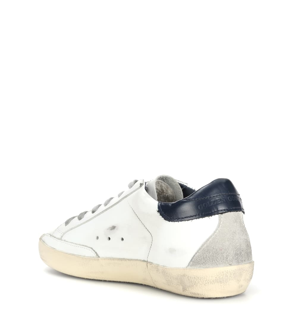 Golden Goose Deluxe Brand Sneakers Superstar aus Leder
