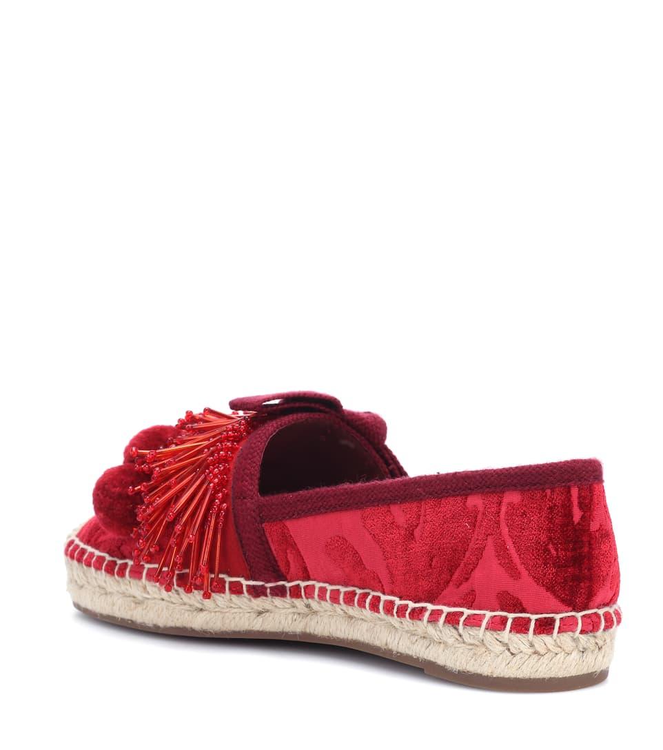 Marc Jacobs Verzierte Espadrille-Sandalen Kostenloser Versand Billige Fälschung Großer Verkauf Günstig Online Verkauf Besten Verkaufs Verkauf Am Besten eDq7dESKh