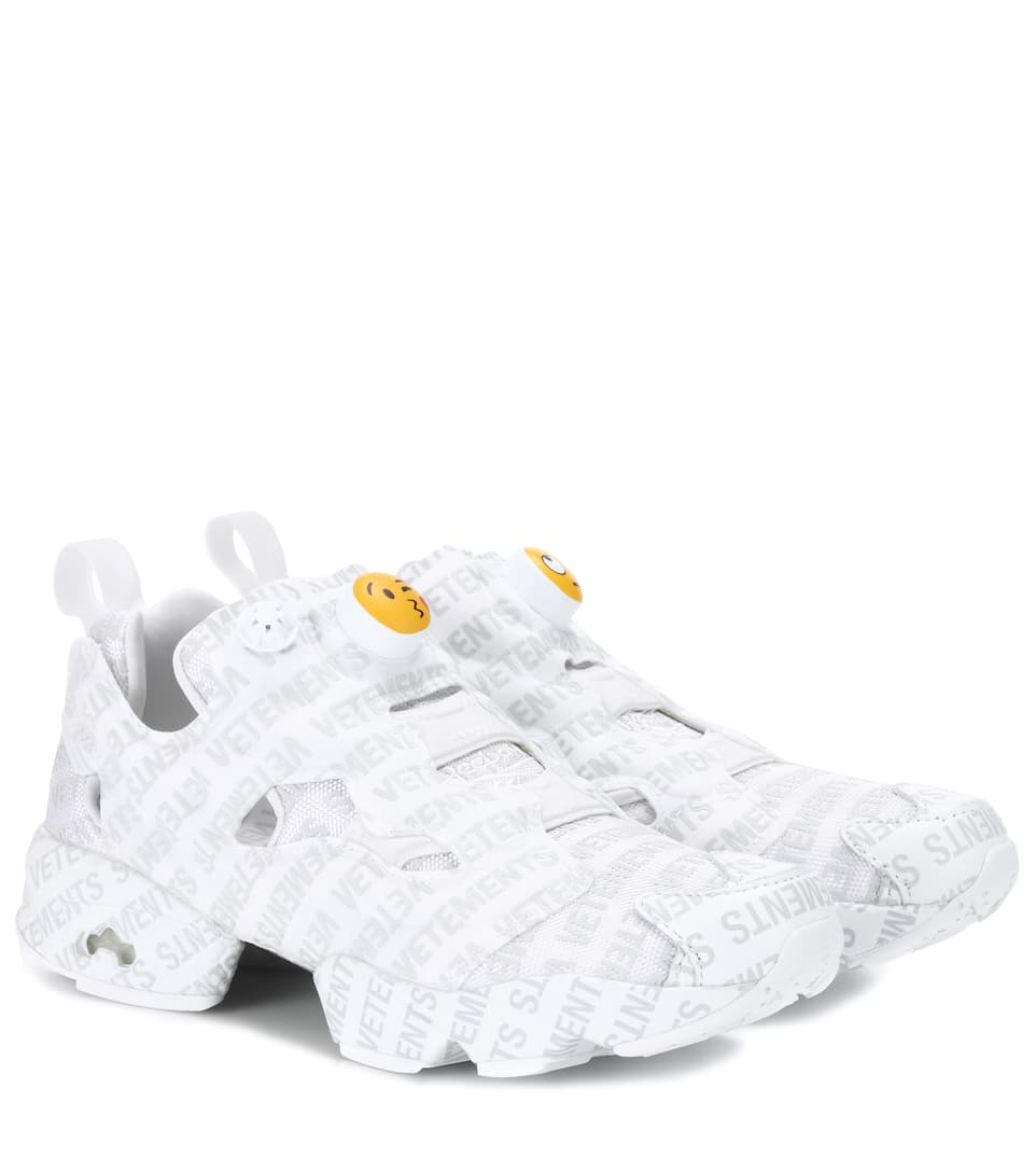 Vetements Sneakers Logo Instapump Fury