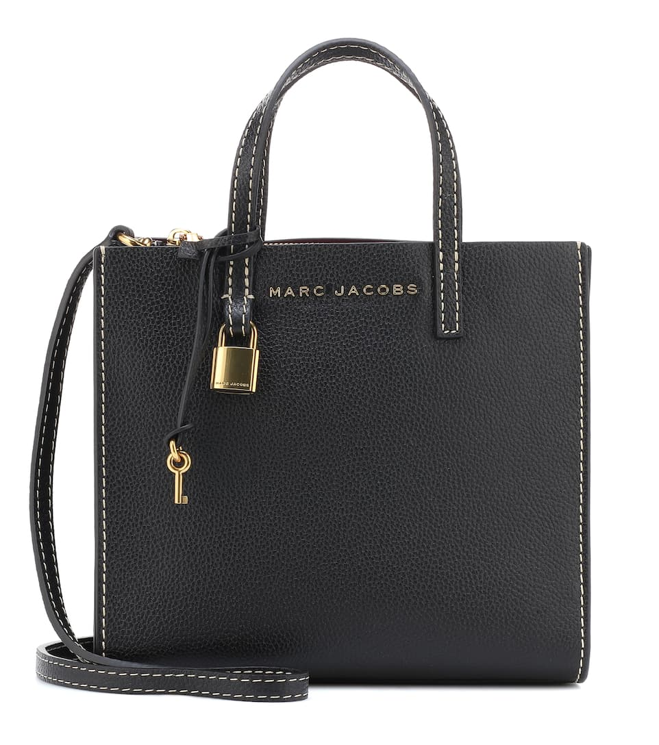 6891881e93603 Marc Jacobs - The Mini Grind leather tote