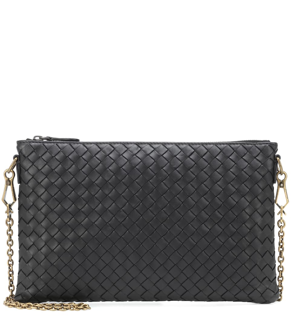 c8fb3047dbc72 Intrecciato Leather Chain Wallet | Bottega Veneta - Mytheresa