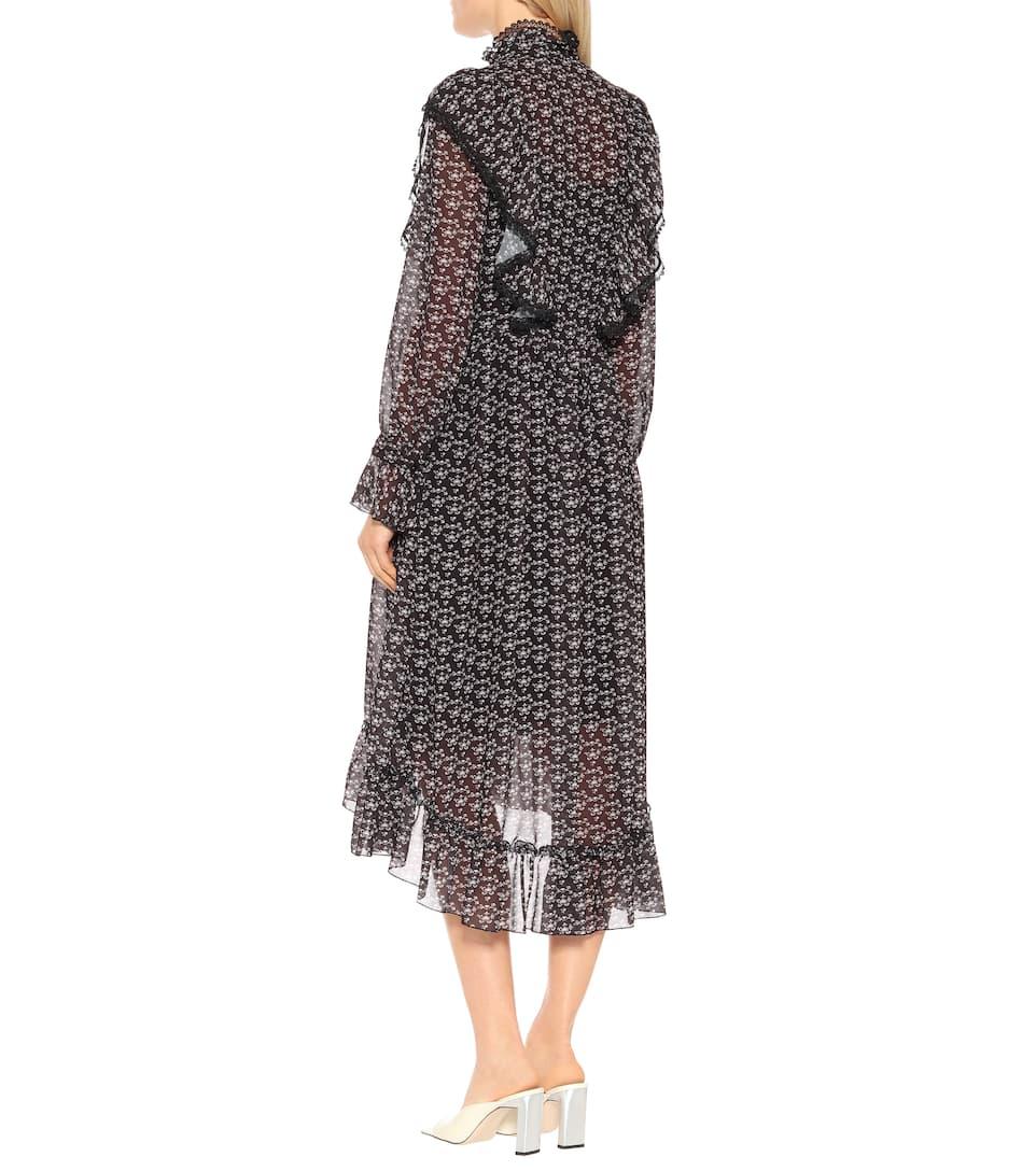 029c5da7e0a See By Chloé - Printed crêpe midi dress