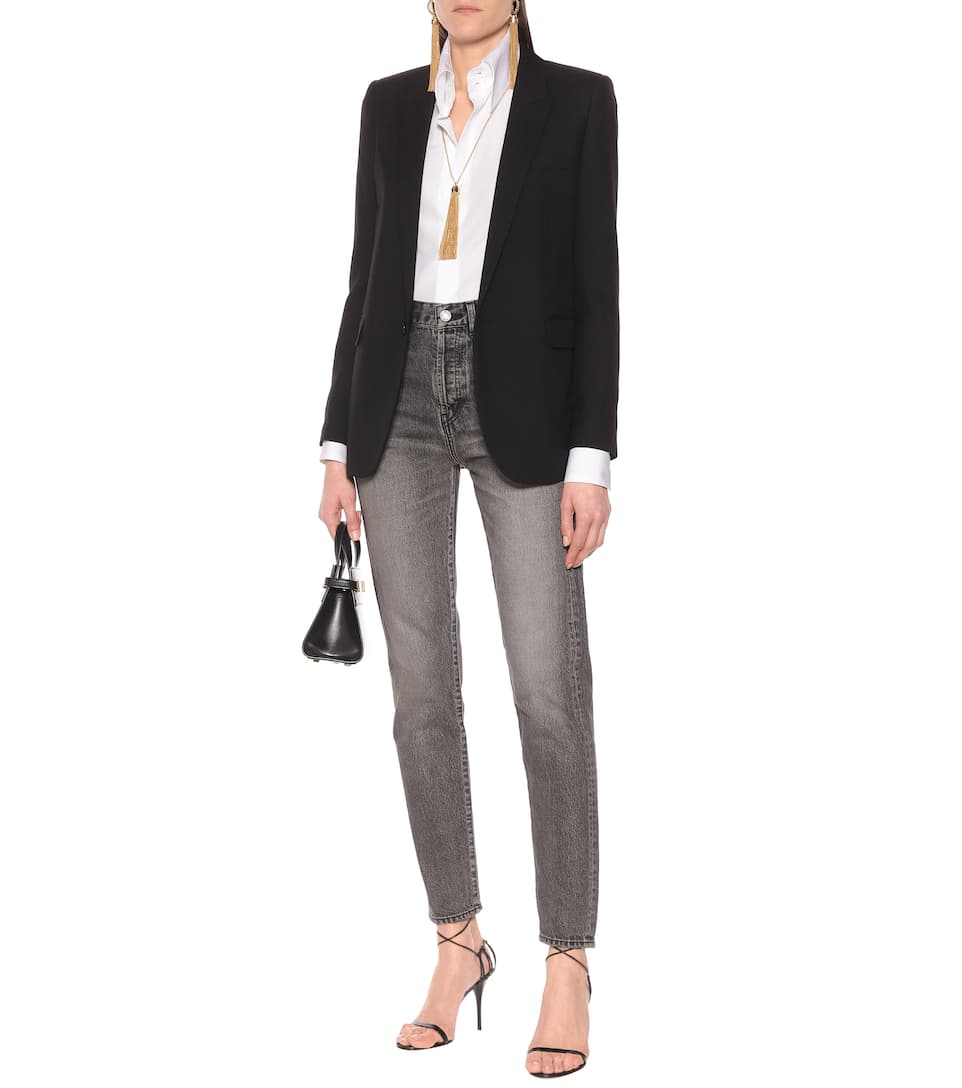 Cotton-Poplin Shirt - Saint Laurent