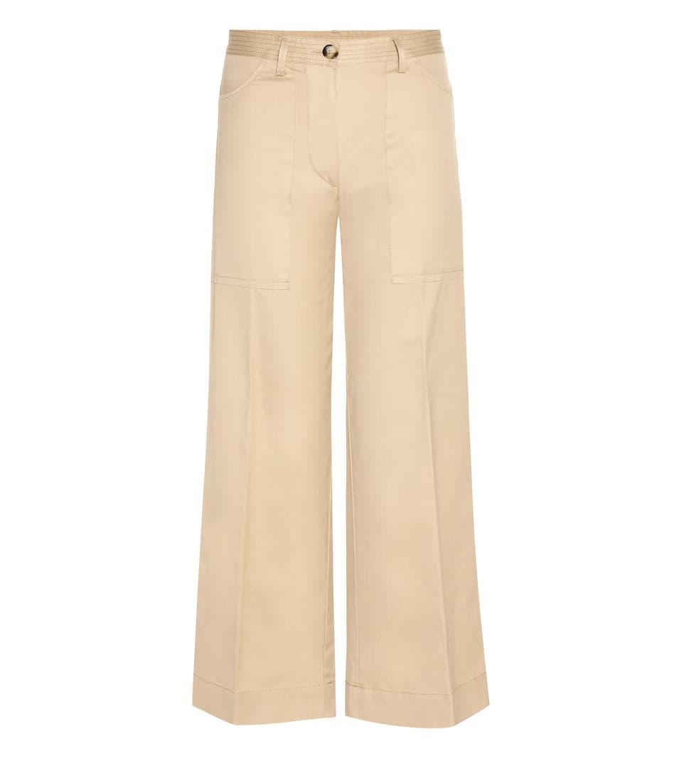 Moncler Hose aus Baumwolle Billige Breite Palette Von Billigster Günstiger Preis Auslass Gut Verkaufen p3ncz4