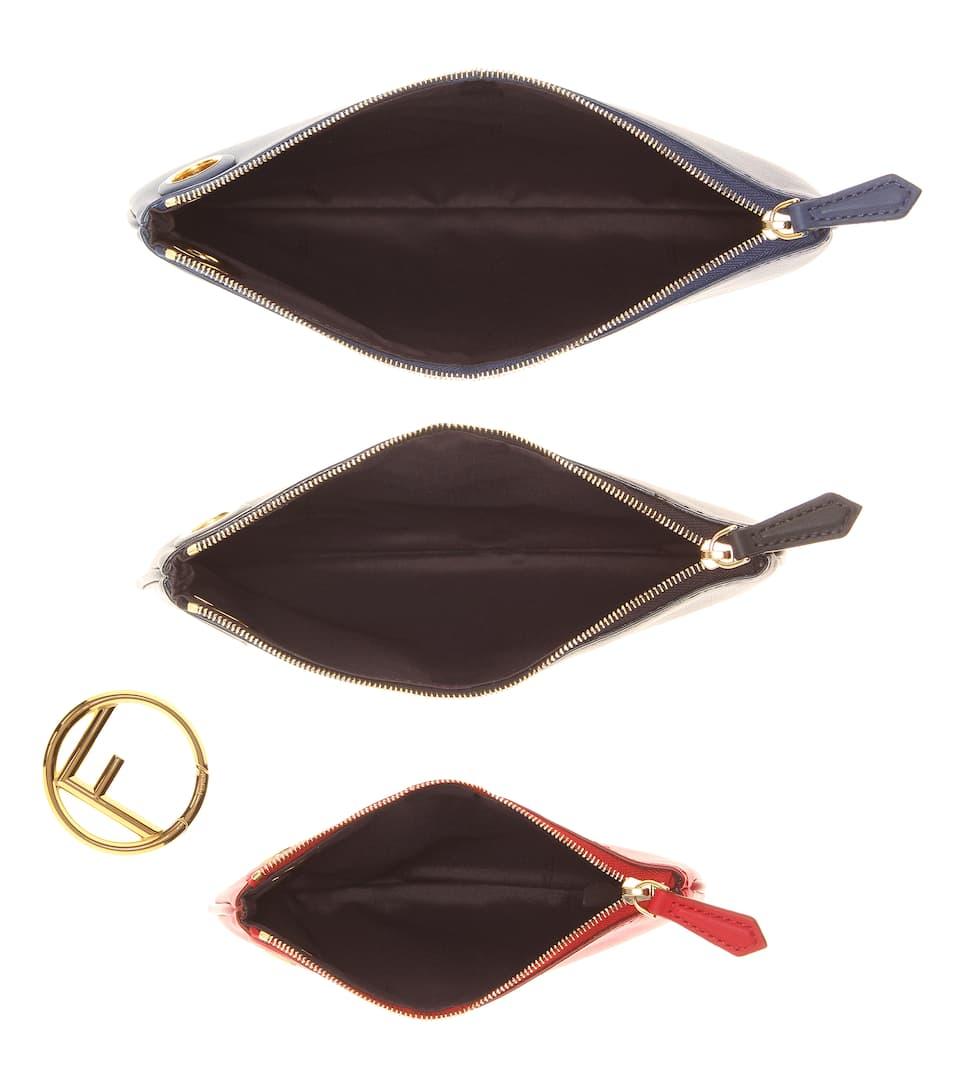 aus Fendi aus Leder Fendi Tasche Triplette Triplette Leder Fendi Tasche Tasche RH7zx1R