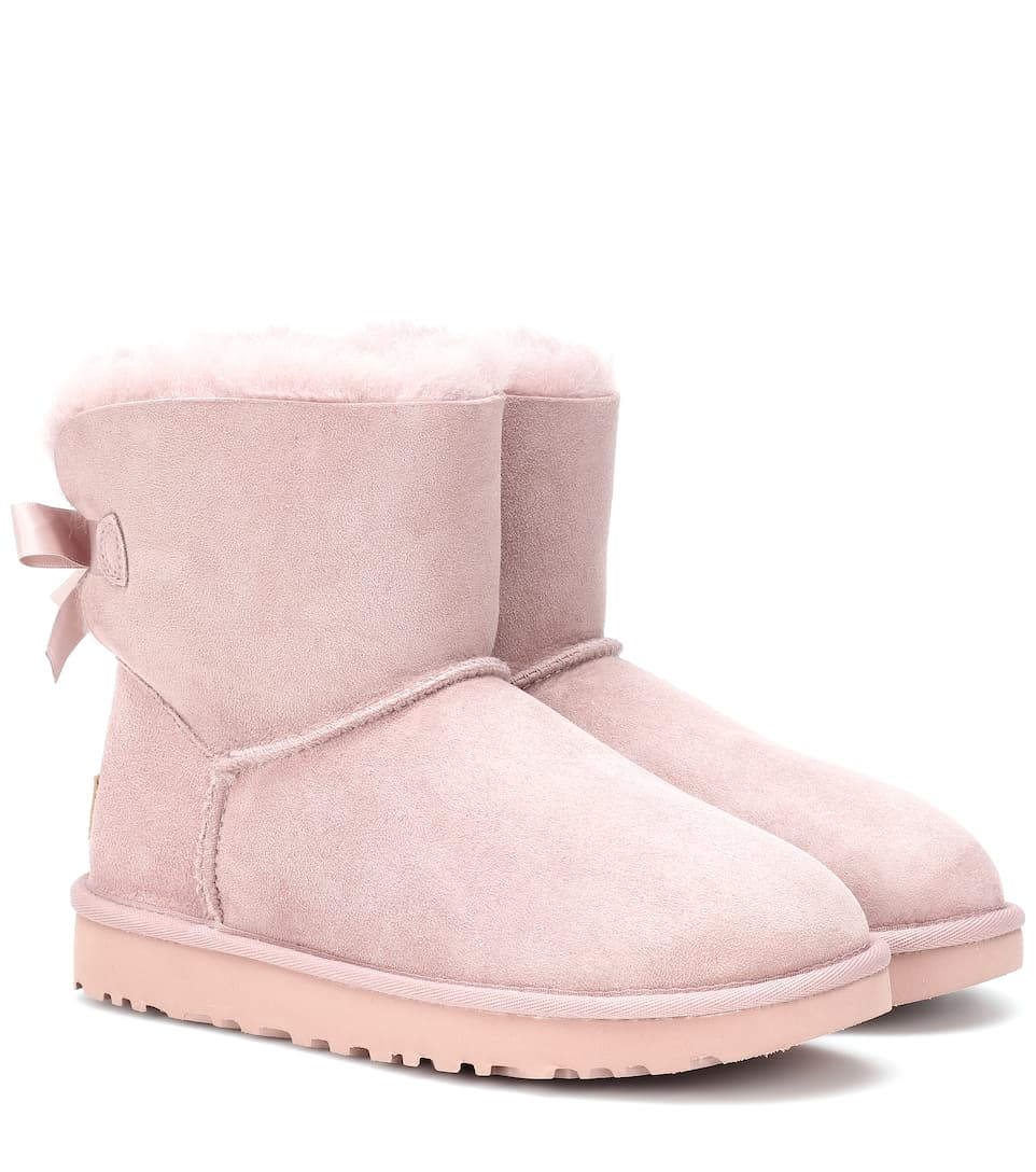 6226aced8a4 Mini Bailey Bow II suede boots