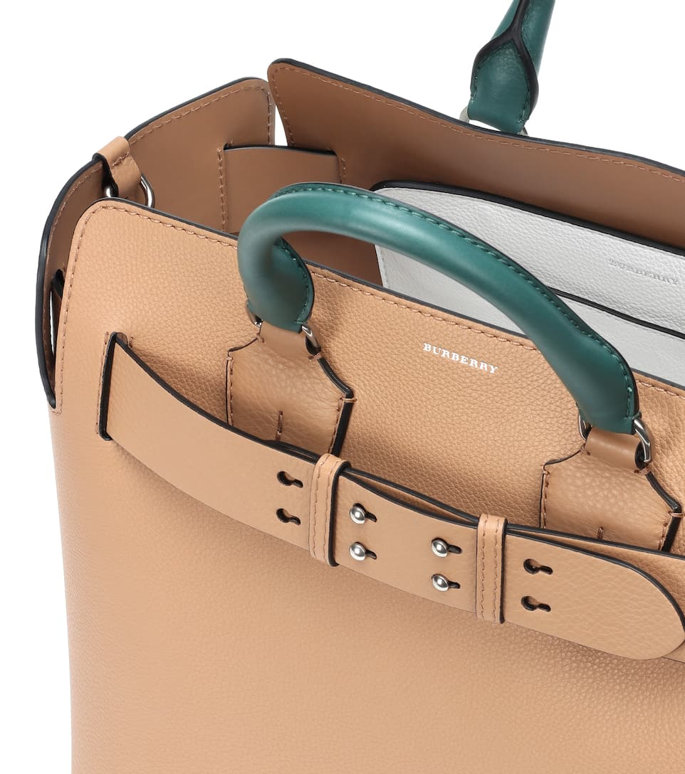 Medium Belt The Leather Burberry Tote a0zSq