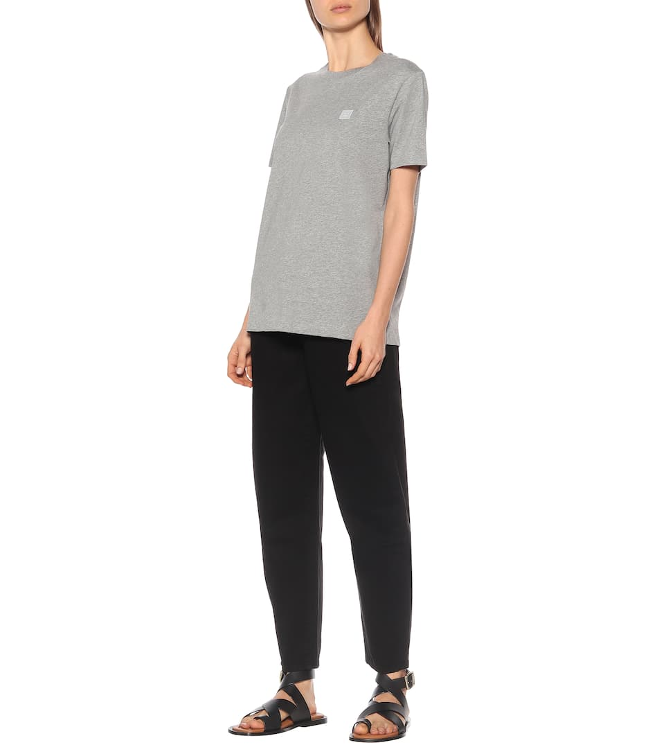 Ellison Face Cotton T-Shirt | Acne Studios - Mytheresa