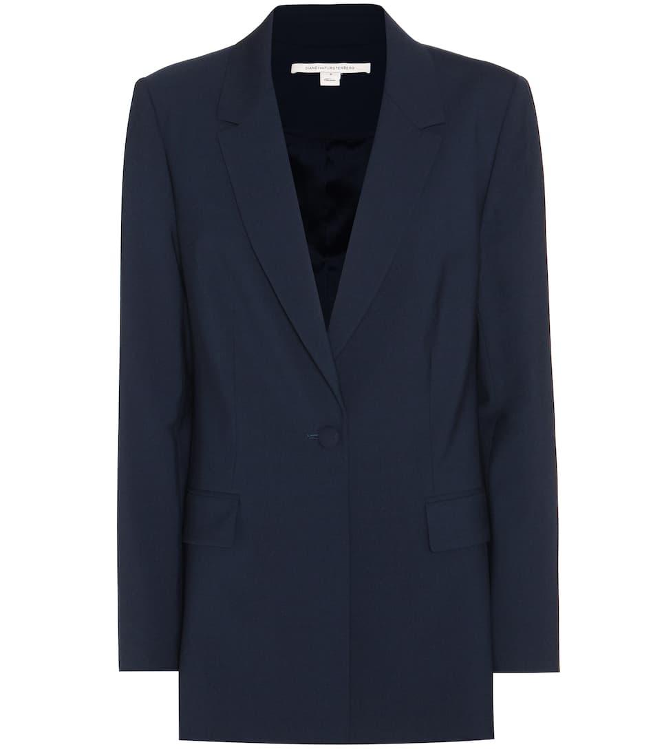 Diane von Furstenberg Kirey wool jacket