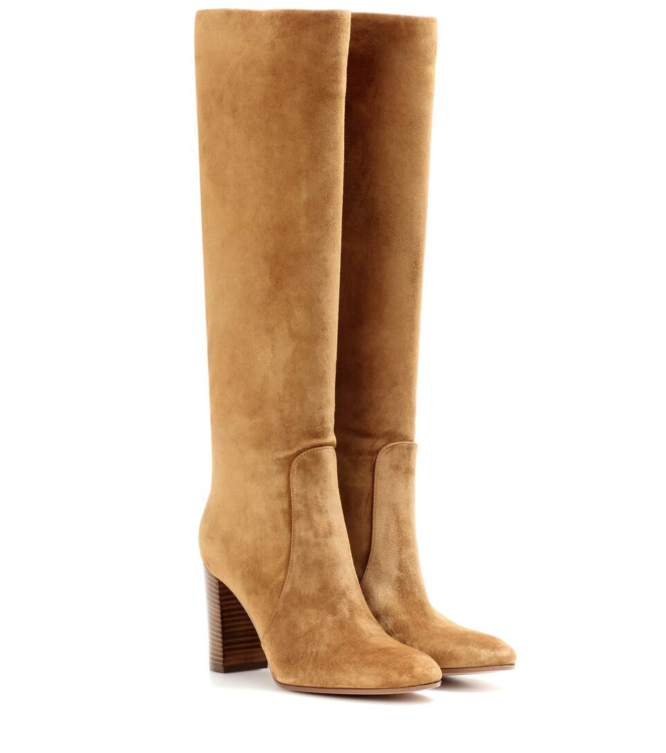 Casalmo Suede Boots by Gianvito Rossi