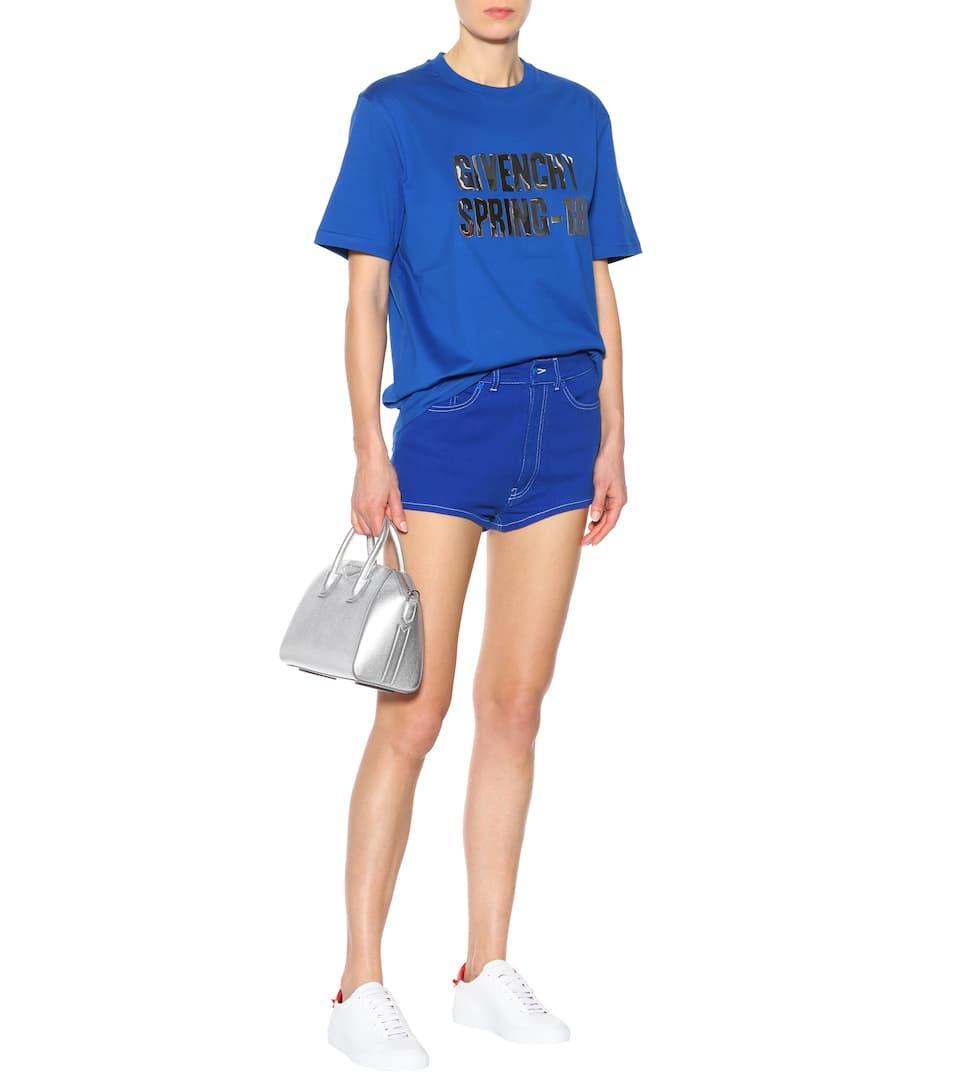 Givenchy Bedrucktes T-Shirt aus Baumwolle Freiheit 100% Garantiert Rabatt Sehr Billig Billig Verkauf Erstaunlicher Preis vkPgmo7V