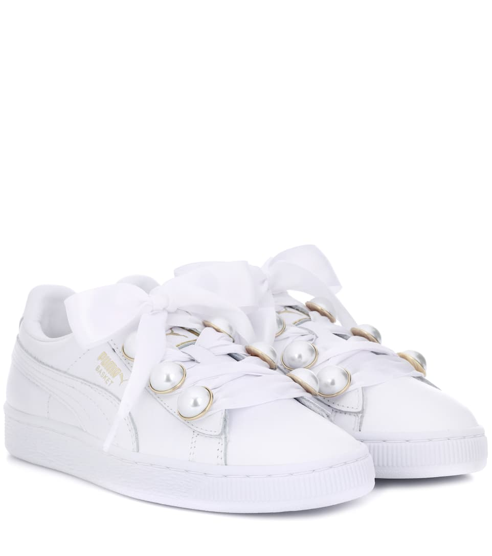 31e34d49a2c79c Basket Bling Leather Sneakers
