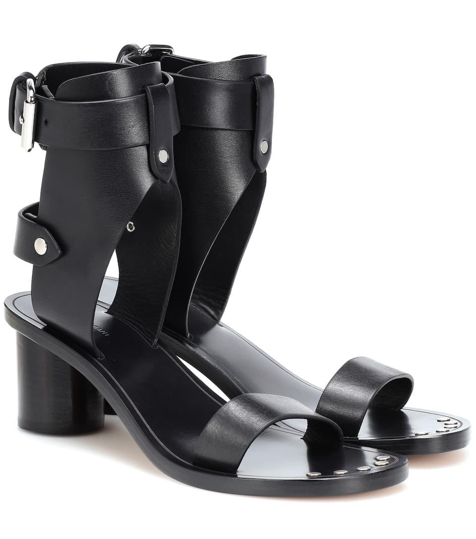 2351be1dcf Jaeryn Studded Leather Sandals - Isabel Marant | mytheresa