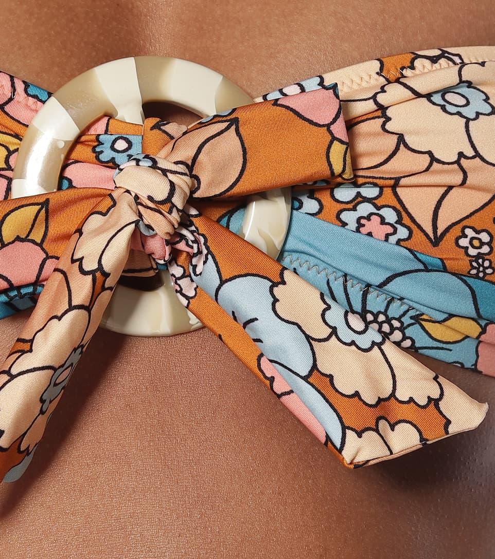 Dodo Bar Or - Floral halterneck bikini top
