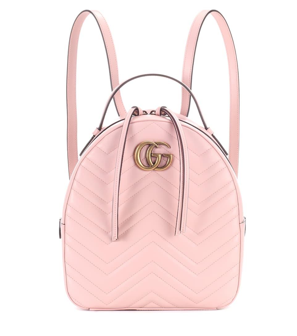 26ff1da06d0 Gg Marmont Matelassé Leather Backpack - Gucci