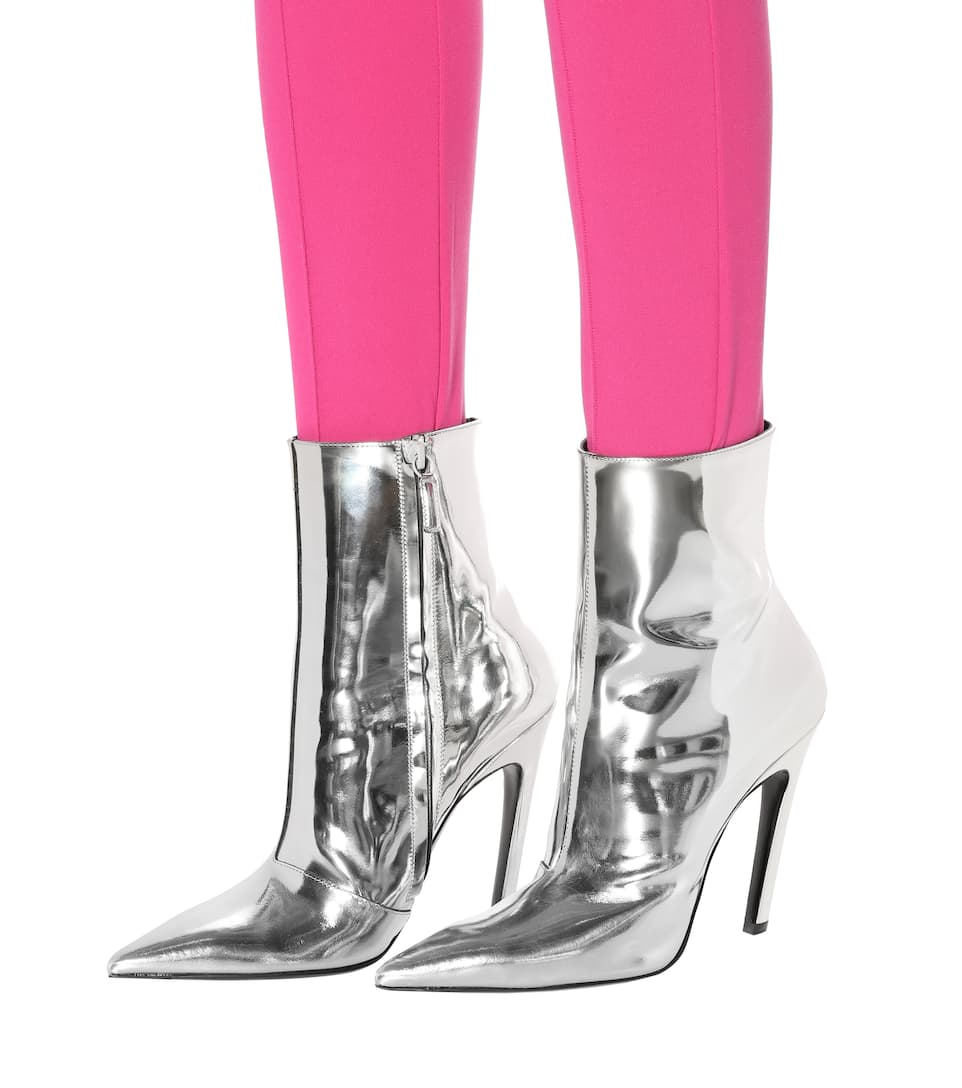 Slash boots with heels Balenciaga